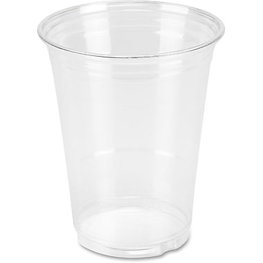 Genuine Joe – Gobelets en plastique transparent, 16 oz, paquet de 25