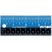 Victor Stainless Steel Dual Colour Easy Read Ruler
