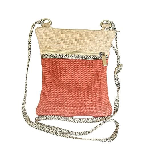 Leaf & Fiber LNFBG1102-02 Eco Friendly Hand Made Bag, Hipster, Ipad