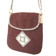 Leaf & Fiber, Eco Friendly Hand Made Bag, Rummy (LNFBG1106-03)