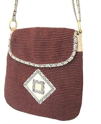 Leaf & Fiber, Eco Friendly Hand Made Bag, Rummy (LNFBG1106-03)