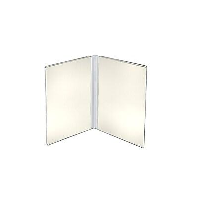 Azar Displays Dual Frame Sign Holder 10/Pack