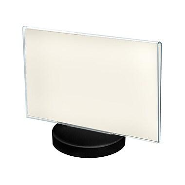 Azar Displays Round Base Sign Holder 11 x 8.5 Inch 10/Pack (108715)