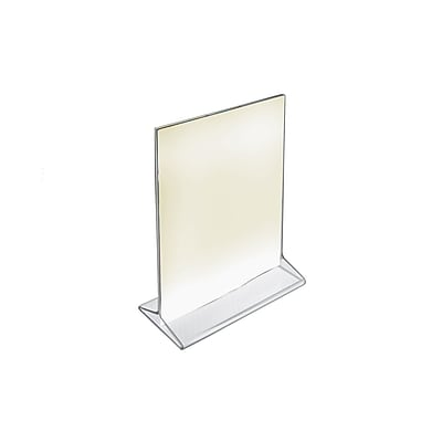 Azar Acrylic Vertical Top Load Sign Holder, 7