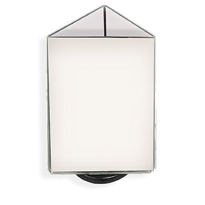 Azar Displays 3-Sided Sign Holder, 11 x 8.5-inch