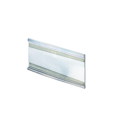 Azar Acrylic C-Channel Nameplate with Adhesive Back, 5