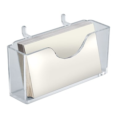 Azar Displays Business Card Holder, 2H x 4.125W, 10/Pack (252008)