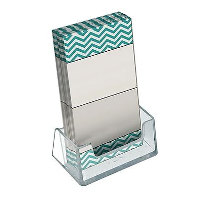 Azar Displays Vertical Business Card Holder, 3