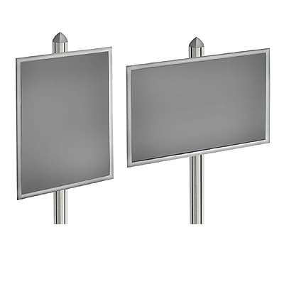 Azar Displays Snap Frame for Freestanding Unit