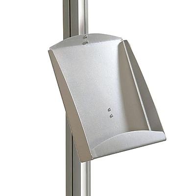 Azar Displays Brochure Shelf for Freestanding Unit