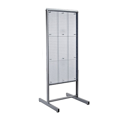 Azar Clear Pegboard Display 48H x 24W-inch