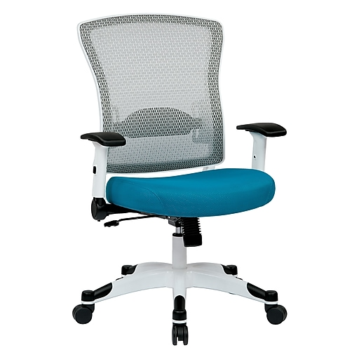 Space Seating Pulsar Nylon & Mesh Managers Chair, Blue