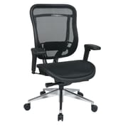 Space Seating Mesh Computer and Desk Office Chair, Fixed Arms, Multicolor (818A-11P9C1A7U)