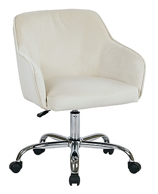 Ave Six Bristol Polyester & Metal Task Chair, Oyster