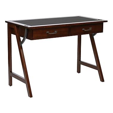 OSP Designs Dorset Wood Writing Desk, Cider