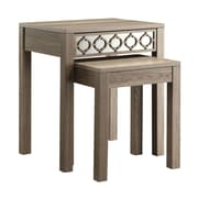 OSP Designs Wood/Veneer Sets Table, Oak, Each (HLN19-GK)