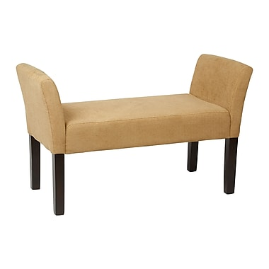 Ave Six Kelsey Upholstered Bench, Shultz Nugget Fabric