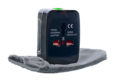 Guest Valet™ Worldwide Adapter in Black