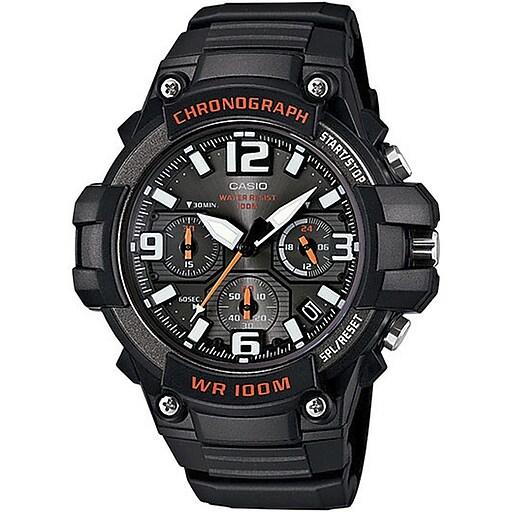 Casio Heavy Duty Chronograph Analog Watch, Black (MCW100H-1AV)