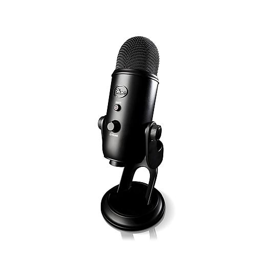 Blue Microphones Yeti Professional USB Microphone, Blackout