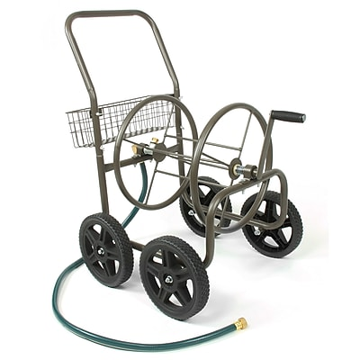 Liberty Garden™ Four Wheel Hose Cart, Bronze (871-S)