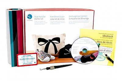 Silhouette Heat Transfer Starter Kit, Assorted (KIT-HEAT-TRANS-3T)