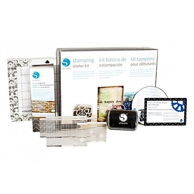 Silhouette Stamping Starter Kit, Assorted (KIT-STAMP-3T)