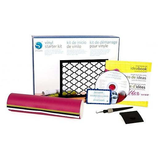 Silhouette Vinyl Starter Kit, Assorted (KIT-VINYL-3T)