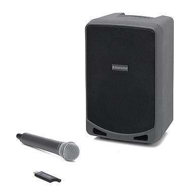 Samson® XP106w Expedition Bluetooth Portable PA System, Black/Gray