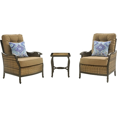 Hanover Outdoor Furniture Hudson Square 3-Piece Lounge Set