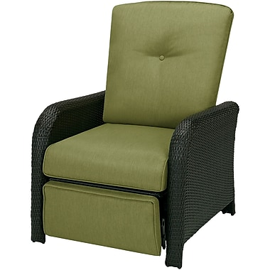 Hanover Outdoor Furniture Strathmere Outdoor Reclining Lounge Chair, Cilantro Green (STRATHREC)
