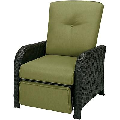 Hanover Outdoor Furniture Strathmere Outdoor Reclining Lounge Chair, Cilantro Green (STRATHREC)