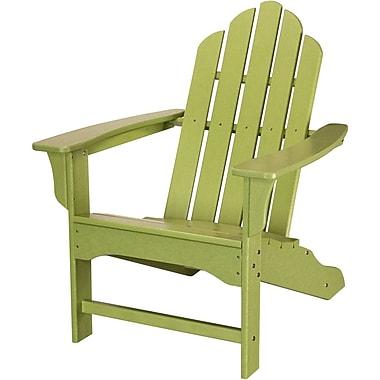 Hanover Outdoor Contoured Adirondack Chair, All Weather, Lime (HVLNA10LI)