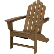 Hanover Outdoor Furniture All-Weather Contoured Adirondack Chair, Teak (HVLNA10TE)
