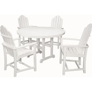 Hanover Outdoor Furniture Siesta Key 5-Piece All-Weather Dining Set