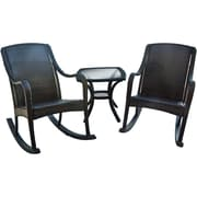 Hanover Outdoor Orleans Rocking Patio Set, 3-Piece (ORLEANS3PCRKR)