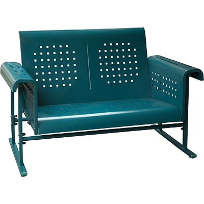 Hanover Outdoor Retro Loveseat Glider (RETROLOVESEAT)