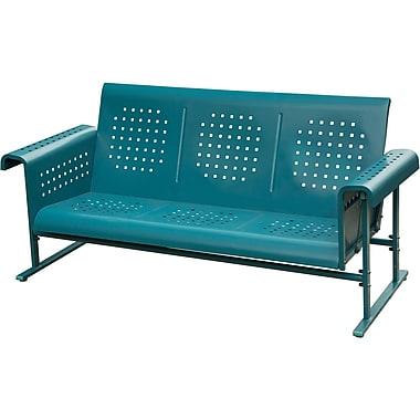 Hanover Outdoor Retro Glide-Action Steel Sofa (RETROSOFA)