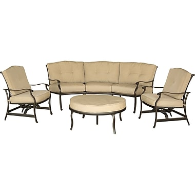 Hanover Outdoor Furniture Traditions Seating Set, 4-Piece (TRADITIONS4PC)