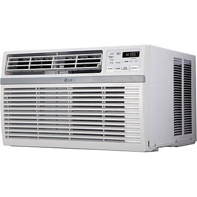 LG 10,000 BTU 115V Window-Mounted Air Conditioner with Remote Control (LW1015ER)
