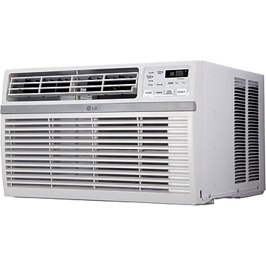 LG Energy Star 15,000 BTU 115V Slide In-Out Chassis Air Conditioner with Remote Control