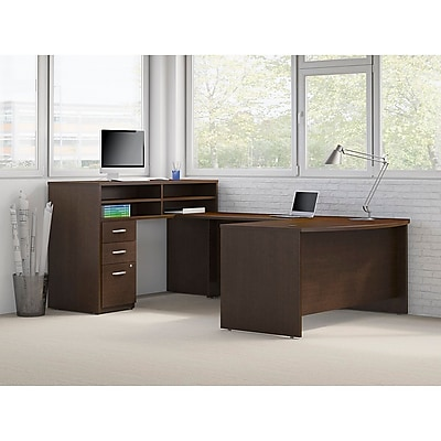 Bush® Business Westfield Elite Collection, Mocha Cherry