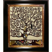Tori Home Tree of Life by Gustav Klimt Framed Painting