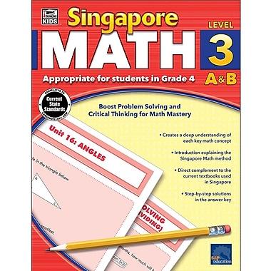 Carson-Dellosa Thinking Kids Singapore Math Workbook for Grade 4 (704681)