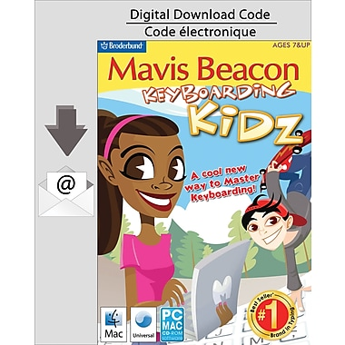 Encore Mavis Beacon Keyboarding Kidz, Mac [Download]