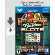 Logiciel de jeux de machines à sous IGT Slots Paradise Garden pour PC/MAC, anglais