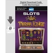 Logiciel de jeux de machines à sous IGT Slots Three Kings pour PC/MAC, anglais