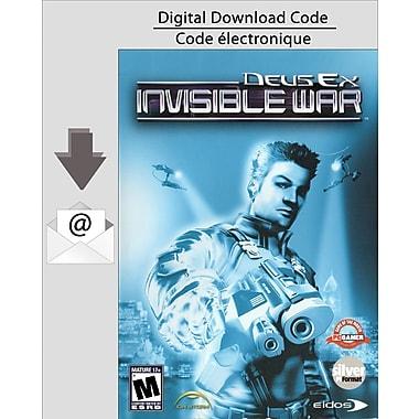 Logiciel de jeu Deus Ex Invisible War pour PC, anglais