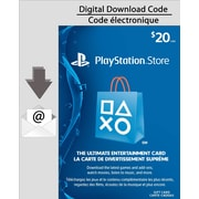 PlayStationNetwork, $20 Electronic Code, [Download]