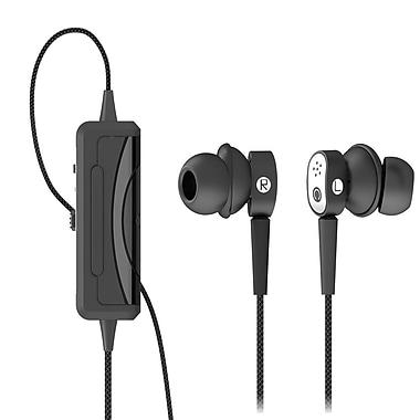 Spracht – Casque d'écoute intra-auriculaire voix/musique Konf-X Buds™, noir/argent